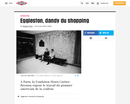 Eggleston dandy du shopping 1119239 William
