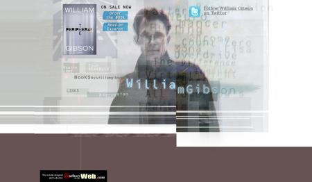 williamgibsonbooks.com William