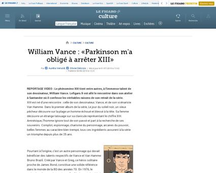 03004 20100630ARTFIG00744 william vance  William