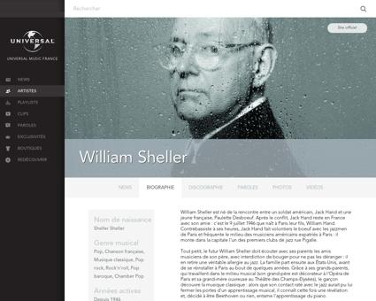 Biographie William