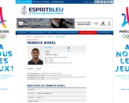 Yannick BOREL