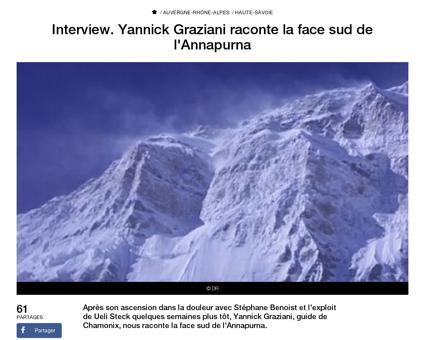 Interview yannick graziani raconte la fa Yannick