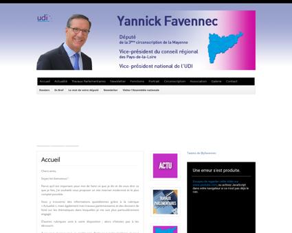 yannickfavennec.com Yannick