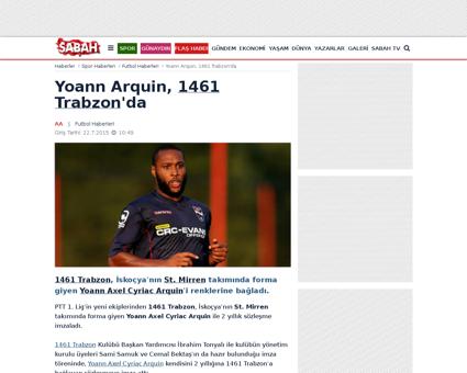 Yoann ARQUIN