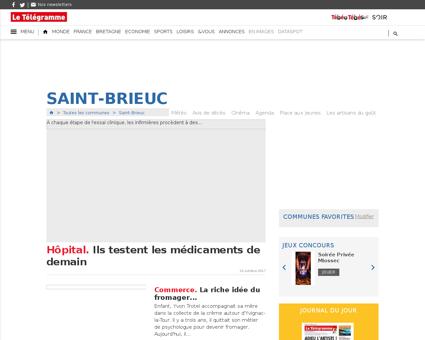 Saint brieuc.letelegramme.com Yoann