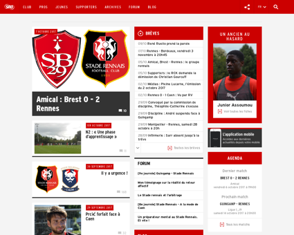 stade rennais online.com Yoann