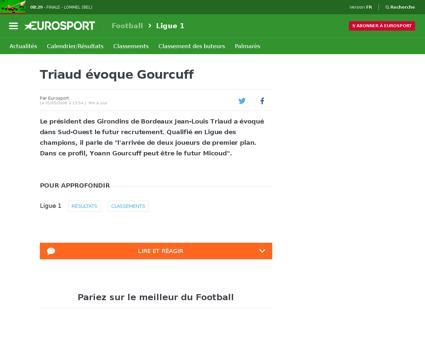 Gourcuff le chouchou mis de cote 1105051 Yoann