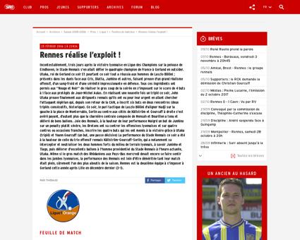 Rennes realise l exploit Yoann