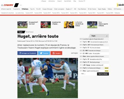 Yoann HUGET