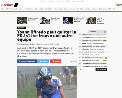 Yoann OFFREDO
