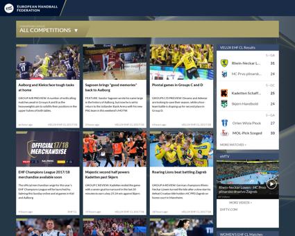 All star+team+announced+at+VELUX+EHF+FIN Luc