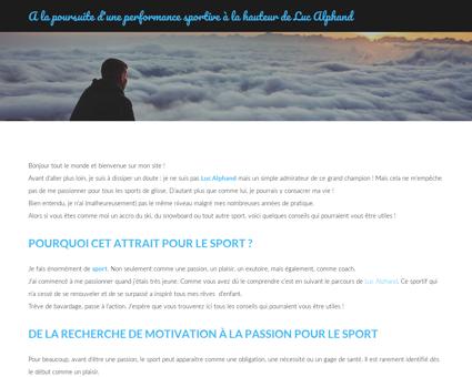 luc alphand.com Luc