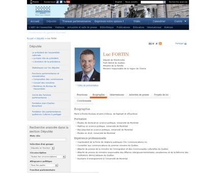 Biographie Luc