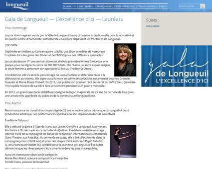 Gala excellence laureats Luce