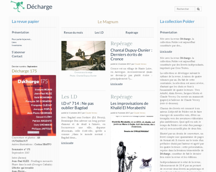 dechargelarevue.com Luce