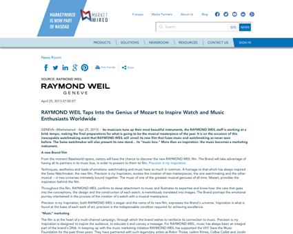 Raymond WEIL