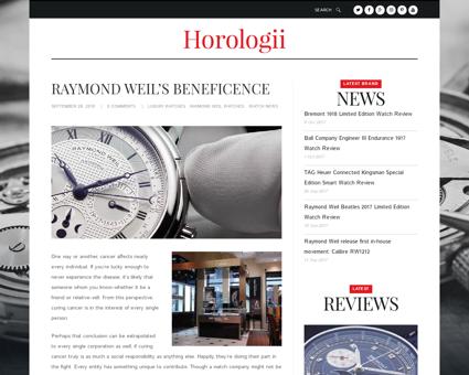 Raymond weil tells its watchmaking story Raymond