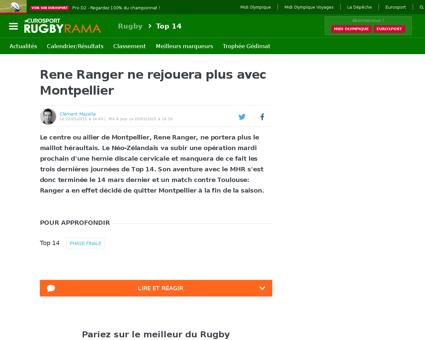 Rene RANGER