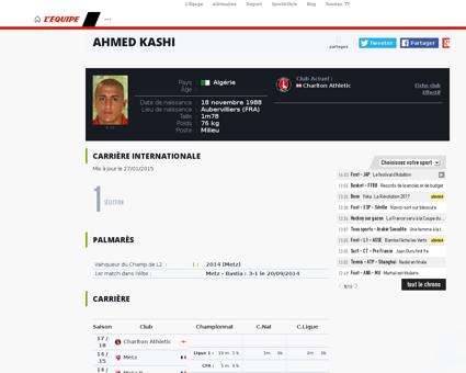 Can 2015 27 joueurs appeles par gourcuff Ahmed