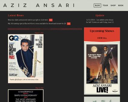 azizansari.com Aziz