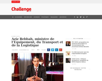 Aziz rebbah ministre de lequipement du t Aziz