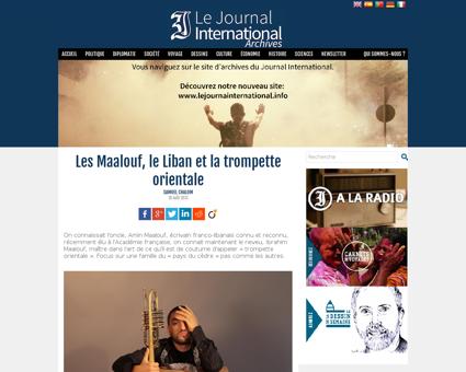 Les Maalouf le Liban et la trompette ori Ibrahim