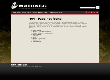 UnitHome xMarines.mil Marine