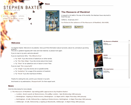 stephen Baxter.com Stephen