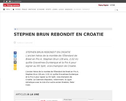 Stephen BRUN