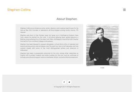 stephencollins.com Stephen