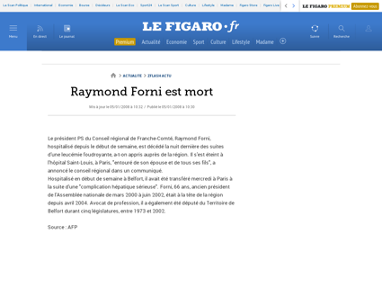 Raymond FORNI