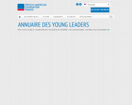 Annuaire young leaders Alain