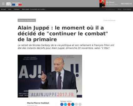 Alain JUPPE