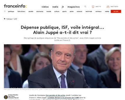 Depense publique isf voile integral alai Alain