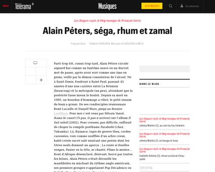 Alain peters sega rhum et zamal,112409 Alain