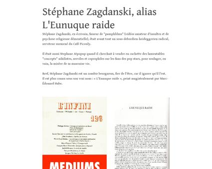 Zagdanski eunuque raide.tumblr.com Alain