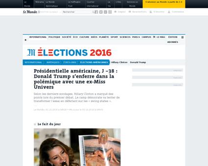 Elections americaines j 38 donald trump  Alicia