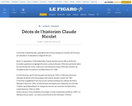 Claude NICOLET