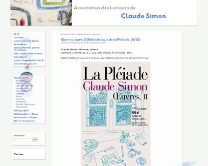 Deuxieme volume de la pleiade Claude