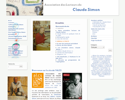 Associationclaudesimon.org Claude