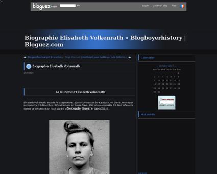 Biographie Elisabeth Volkenrath Elisabeth