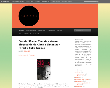 Arcs.hypotheses.org Claude