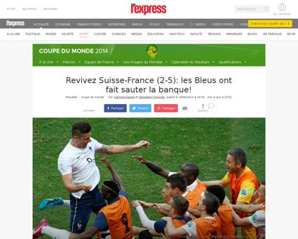 En direct coupe du monde 2014 suivez sui Karim