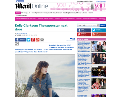 Kelly Clarkson The superstar door Kelly