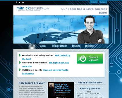 mitnicksecurity.com Kevin
