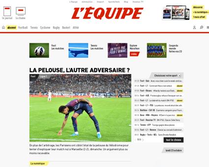 lequipe.fr Lionel