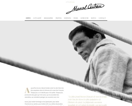 marcelcerdan.com Marcel