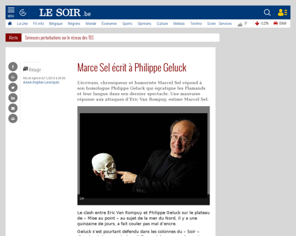Marce sel ecrit a philippe geluck t 2010 Marcel