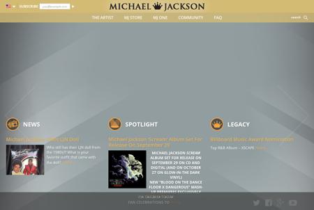 michaeljacksonlive.com Michael