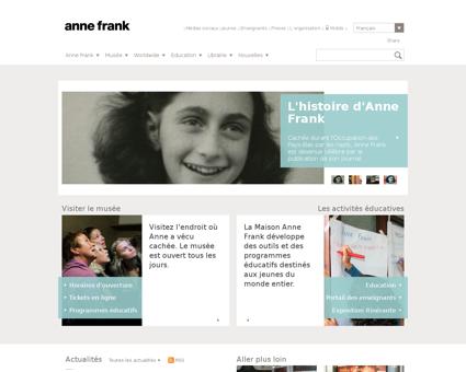 annefrank.org Anne